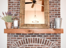 Antique-Brick-fireplace-