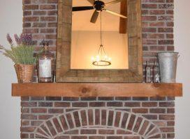 Antique-Brick-fireplace