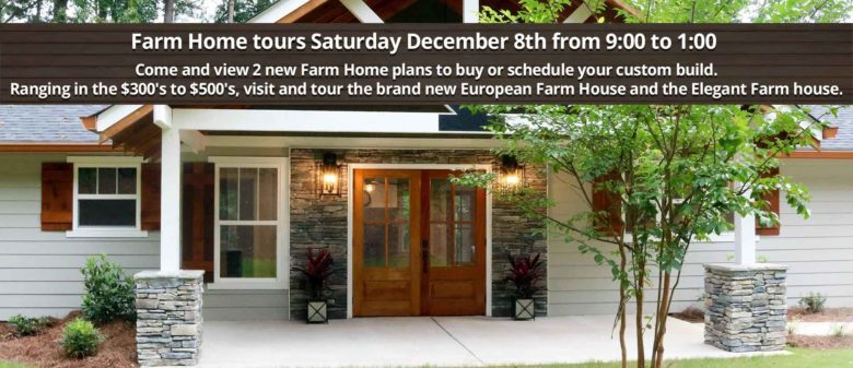 Open house farm homes